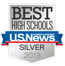 Riverbank High School has been ranked as one of the best high schools and awarded a Bronze medal for 2014!